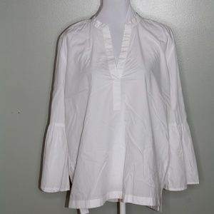 Loft white The Softened shirt SZ L